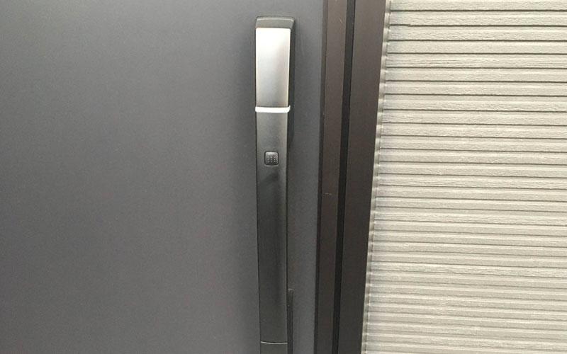 カードキー型の玄関