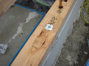 基礎土台施工の悪い例8