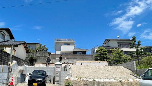 福岡県太宰府市高雄K様邸 レポート④~土台敷き~